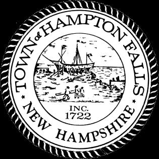 Hampton Falls, NH TownSeal and Hampton Falls
