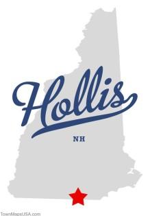 Map of Hollis NH and Senior Care Hollis