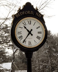 Bedford clock and Bedford Senior Care