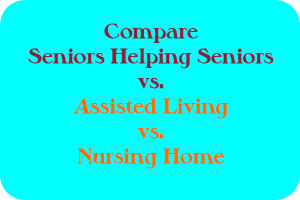 Compare Assisted Living Home vs Nursing Home