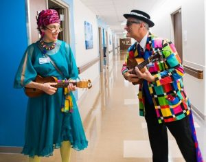 Clowning Around for Dementia Patients