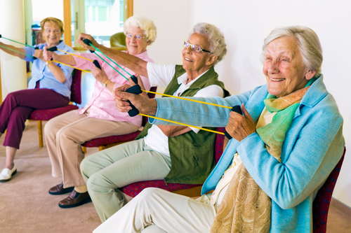 Stretching Improves Muscles in Seniors