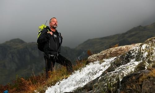 The Mountain Climber with Alzheimer's