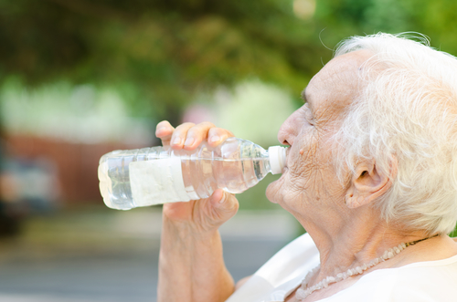 Seniors Need to Drink More H2O
